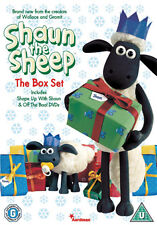 SHAUN THE SHEEP - THE CHRISTMAS GIFT SET - DVD - REGION 2 UK