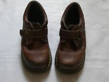 WOMENS DR. MARTENS BROWN LEATHER SHOES SIZE 7