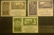 POLAND-STAMPS MNH Fi1103-08 SC994-01 Mi1247-52 -Recovered Territories-1961,clean