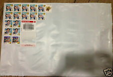 10 x 500g Parcel Post Satchels With Australia post Tracking 310x405mm $7.45