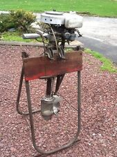 Antique Sears Roebuck & Co Water Witch Boat Motor - Model 0B 1 - Good