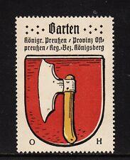 400474/ Reklamemarke - Kaffee Hag - Wappen von Barten / Provinz Ostpreußen