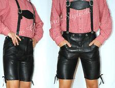 Gay'le kurze Lederhose Trachtenlederhose Pfadfinder spank leather cuir*Gr.46*037
