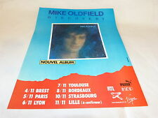 MIKE OLDFIELD - DISCOVERY TOURNEE NOVEMBRE !!!!!!!!!!!! PUBLICITE / ADVERT