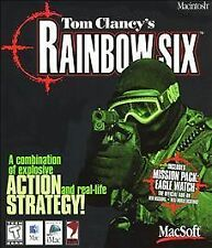 Tom Clancy's Rainbow Six  - Mac, Good Mac OS 9 and below, Mac Video Games