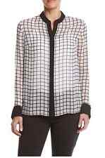 NWT Michael Kors Ruffin Print Top Size XL MSRP $98.00