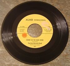"""45 RPM By Baja Marimba Band, """"Comin' In The Back Door"""" on Almo International"""