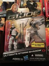 GI JOE Retaliation Cobra Ultimate Storm Shadow New In Package Poc 30th Resolute