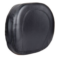 Universal Motorcycle Backrest Cushion Pad For Harley Choppers Touring Cruiser