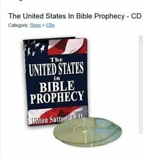 The United States In Bible Prophecy 2 Cd Prophecy Teaching Dr. Hilton Sutton