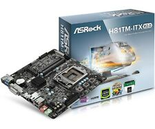 ASRock H81TM-ITX R2.0 Intel LGA1150 ITX Motherboard USB 3.0, SATA 3 and HDMI