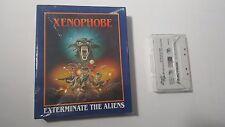 Xenophobe Amstrad CPC 464 Microprose 1989 Game Cassette Big Box