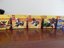 LEGO SET OF 10 VEHICLES SHELL OIL - NEW IN SEALED BOX