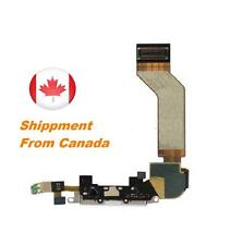 New Black Dock Power connector for iphone 4s charging port flex cable iPhone 4S
