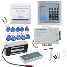 130 LBs Kit Electric Door Lock Magnetic Access Control ID Card Password System