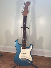 1996 Fender Stratocaster Electric Guitar Mexico Blue /               Telecaster