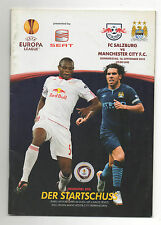Orig.PRG   Europa League  2010/11   RED BULL SALZBURG - MANCHESTER CITY FC  !!