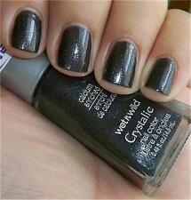 Wet n' Wild Crystalic  Nail Polish ~ Heavy Metal 485C ~ New ~ RARE ~DISCONTINUED