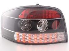 Coppia Fari Fanali Posteriori Tuning LED Audi A3 (8P) 03-05, nero