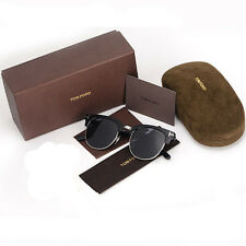2017 New Arrival Tom Ford Retro Sunglasses TF248 Black Eyewear With Case
