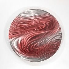 Metal Abstract Modern Wall Art Home Decor - Aurora Stream Red by Jon Allen