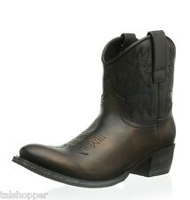 NEW SENDRA SARA Handmade Leather Cowboy Western Boots 7.5 Spain $500 Cowgirl