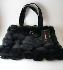 Optionelle Faux Fur Small Handbag New With Tags