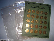 Franklin Mint Antique Car Coin Collection 1, 25 coins 1901-1925, w/coin display