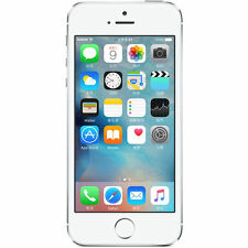 "Silver Apple iPhone 5S GSM 4.0"" Factory Unlocked iOS - Apple Smartphone 16G"