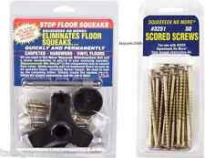 Squeeeeek No More KIT #3233 Eliminates Floor Squeak  and 50 pack Screws