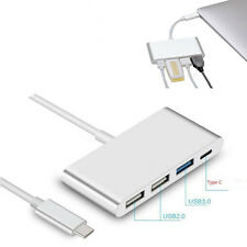 4 in 1 Type C to USB 2.0 USB-C USB3.0 Charging Adapter For Apple MacBook White