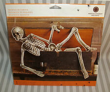 2009 MARTHA STEWART HALLOWEEN PAPER SKELETON DECOR F38B