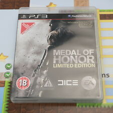 MEDAL OF HONOR - LIMITED EDITION - SONY PLAYSTATION 3 PS3 GAME - VGC
