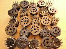 25 Pcs - 9 Pin Vacuum Tube Sockets 12AX7 Tube Audio Amplifier Amplification
