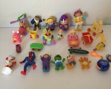 Lot Of 25 Misc Action Figures And Play Toys Spider-Man Garfield Cabbage Patch