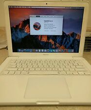 "MacBook 13.3"" A1342 2.40GHz Intel Core 2 Duo 4GB RAM 250GB HDD 10.12.2 Sierra"