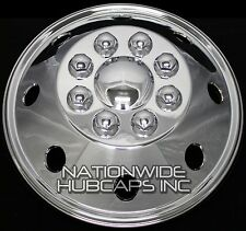 "1 - 16"" CHROME RV MOTORHOME Dual Wheel Simulators Rim Hub Cap Covers Van Truck"