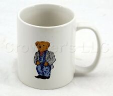 Polo Ralph Lauren 1997 Cowboy Bear White Mug