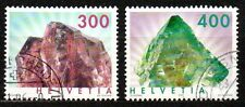 Switzerland - 2003 Definitives minerals Mi. 1844-45 FU