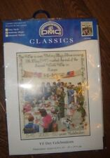 CROSS STITCH KITS HOOP THREADS PUNCH KRAFT KITS PLUS BOOK AND EXTRAS FAB ITEMS