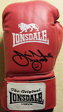 JAMIE MOORE Signed In Person LONSDALE BOXING GLOVE British Champion  COA