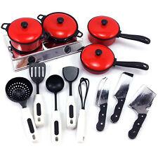 13 Stück/Set Küchenset Kinderküche Kochgeschirr Kindergeschirr Kinder Spielzeug