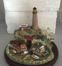 LENOX Light At Lobster Point Lighthouse Building Figurine Statue 2003 In Box
