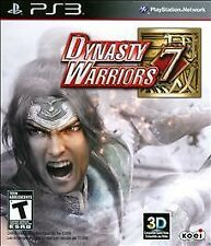 PS3 Dynasty Warriors 7 NEW Sealed REGION FREE English Conquest & no Boundaries