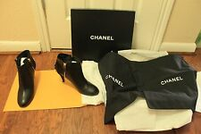 Brand new chanel short boots, bottines, ankle boots,EUROPEAN SIZE 36, MSRP $1395