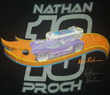 Hot Wheels Large T Shirt 19th Annual Collectors Convention Nathan Proch Signed