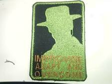 Patch toppa GUNNY HIGHWAY CLInt spOp.RedWing Lone survivor velcro termoadesivo