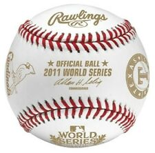 RAWLINGS 2011 World Series Dueling Teams Game Baseball  MLB Offical Ball