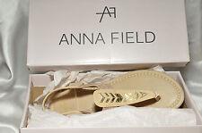 Schöne Beige Sommer Schuhe Damenschuhe von Anna Field Gr. 37 ***NEU***