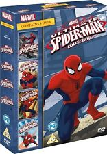 Ultimate Spider-Man Collection Vol 1-4 Volume 1 2 3 4 Spiderman Region 2 DVD